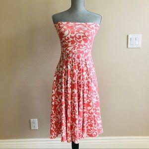 J. Crew Strapless Cotton Dress
